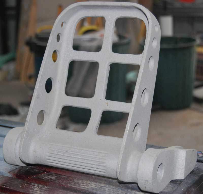BOEING RUDDER PEDAL RAW CASTINGS