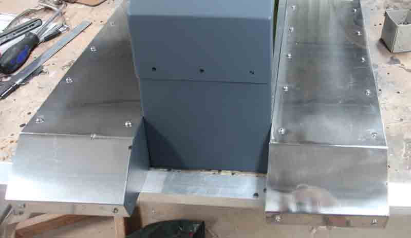 RUDDER PEDAL COVERS ASSY